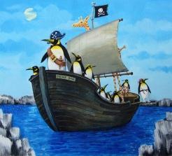 illustration penguin