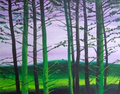 Treeline -evng-light